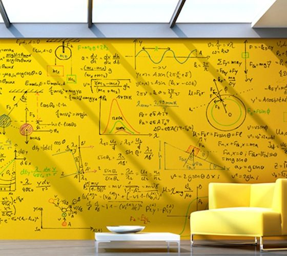 clear-whiteboard-paint-applied-over-yellow-substrate