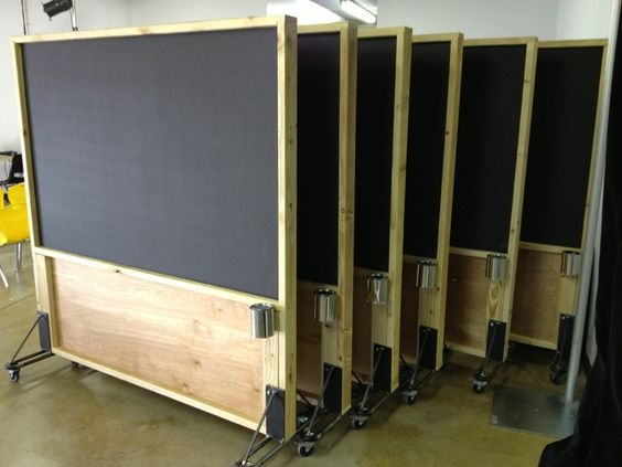 rolling-magnetic-chalkboard-partitions-made-from-plywood-and-steel